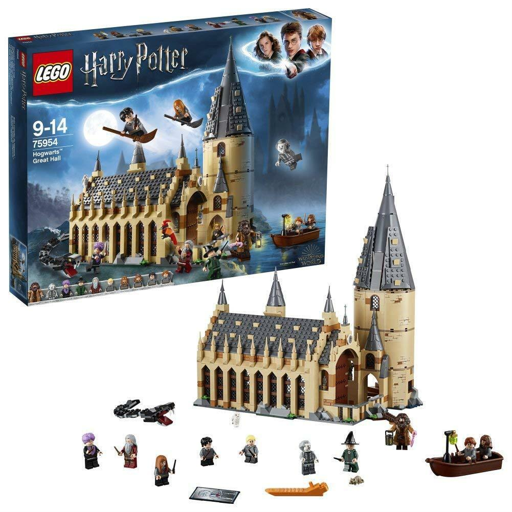 LEGO 75954 Harry Potter Hogwarts Great Hall Hall Hall Toys Castle Playset Toy 366ee7