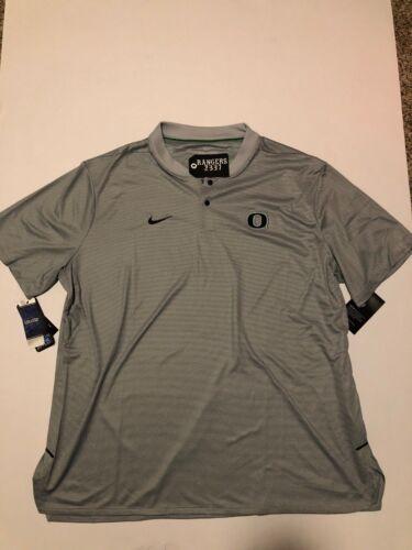 Nike Dri-FIT Oregon Ducks Elite Men/'s Polo XXL Gray Gym Football Casual NWT 2018