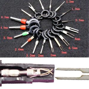 18pcs Automotive Harness Terminal Extraction Car Plug Pin Connector