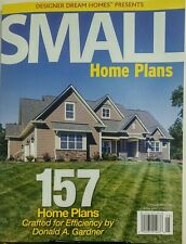 Small Home Plans April May 2017 157 Home Plans Efficiency FREE SHIPPING sb