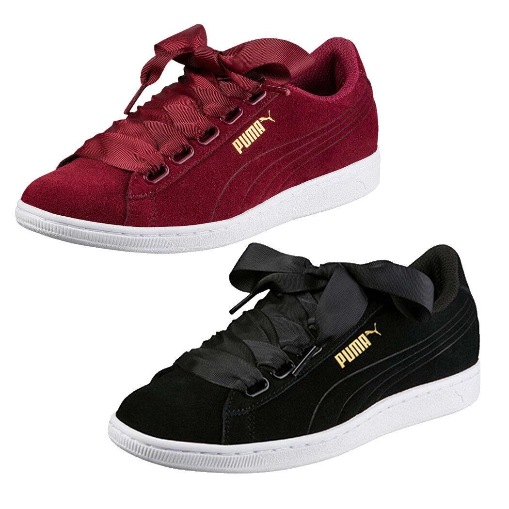 Puma 02 vikky Ribbon cortos señora 364262 03] negros/burdeo [364262 02 Puma 0d091f