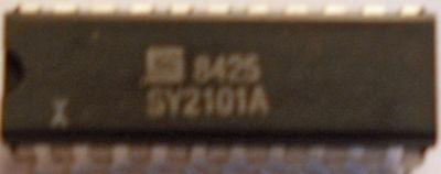 INTEL B2101A-2 B2101 2101 256 x 4 STATIC RAM 250 NSEC ACCESS TIME TTL COMPAT NOS