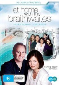 NEW-At-Home-With-The-Braithwaites-Season-1-DVD-2007-2-Disc-Set-SEALED