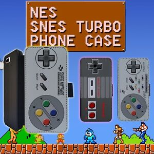 Nes-Snes-Nintendo-Controller-Leather-Wallet-iPhone-8-Plus-7-6s-5-5s-4-4s-6-Case