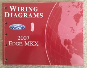 2007 Ford Edge MKX Wiring Diagrams OEM | eBay