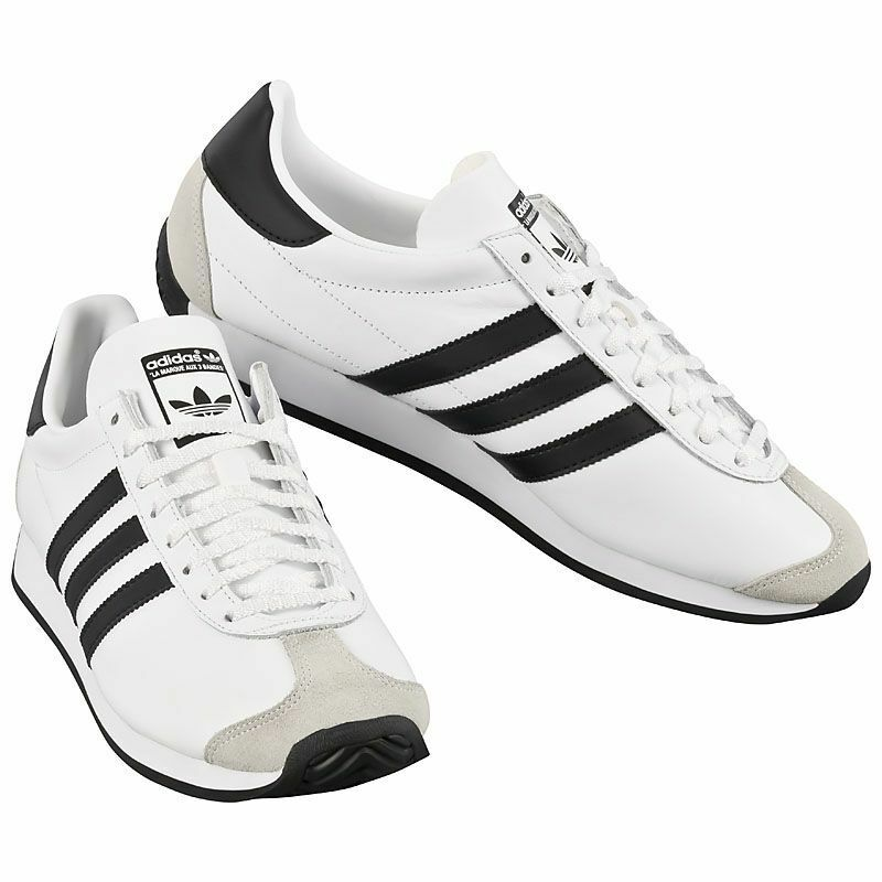 UK SIZE COUNTRY 7.5 - ADIDAS ORIGINALS COUNTRY SIZE OG TRAINERS - WEISS 87716a