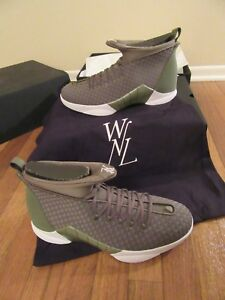 2bdf9ebd1fdf Nike Air Jordan 15 Retro WVN PSNY Size 11.5 Medium Olive Public ...