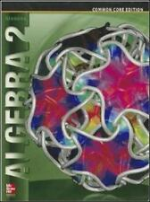 Merrill Algebra 2: Algebra 2 by McGraw-Hill Education Editors (2012, Hardcover, Student Edition of Textbook)