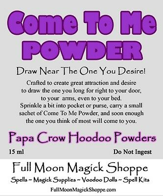 Come To Me Hoodoo Powder Attract Specific Person Love Romance Sex Partner  Use | eBay