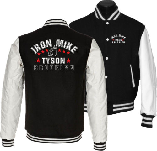 College Jacket Iron Mike Tyson-The Brooklyn Dynamite