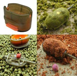 Life Orange Mould Press mit Pusher, Futterpresse für Method Feeder Körbe