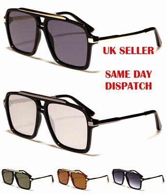 New Khan Pilot Oversized Designer Mens Womens Ladies Sunglasses 100/%UV400 5133