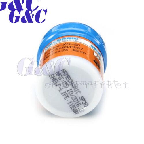 Mechanic Reparing SMD//BGA Sn63//Pb37 XG-30 XG-40 XG-50 Solder Paste