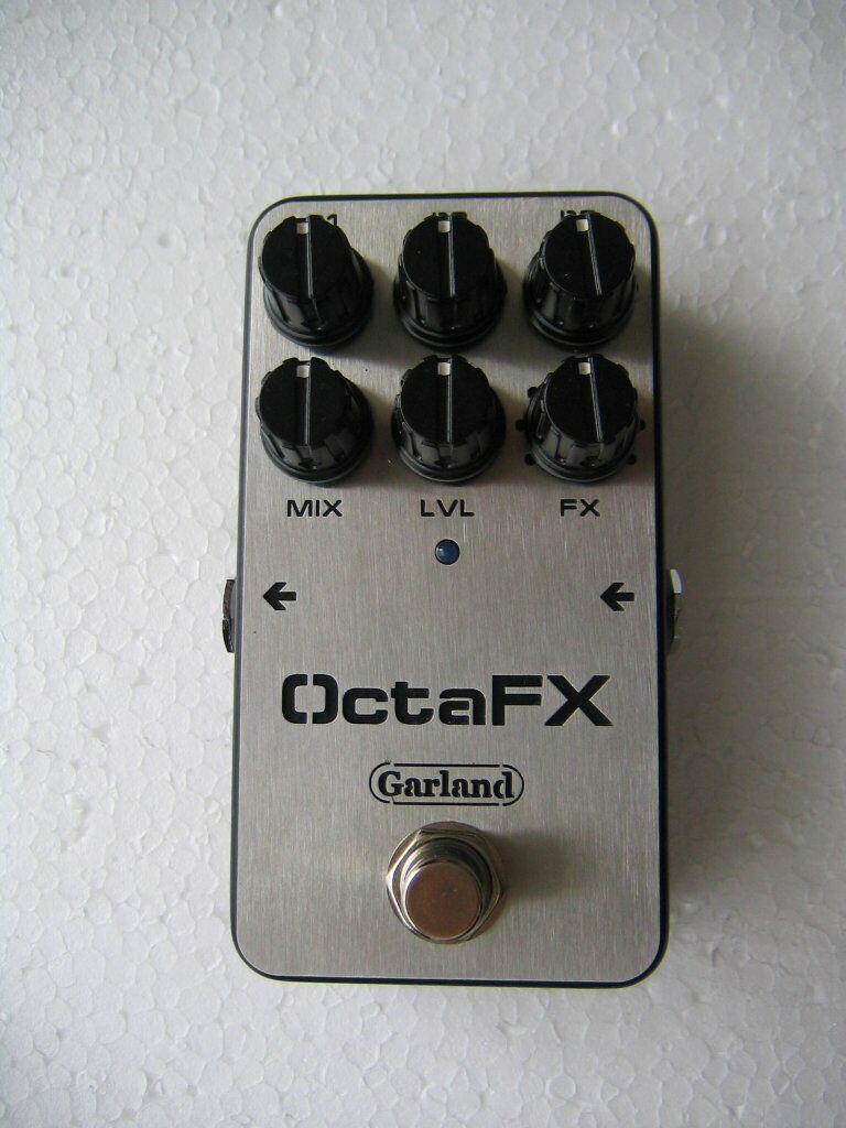 Garland Amps OctaFX multieffects guitar pedal