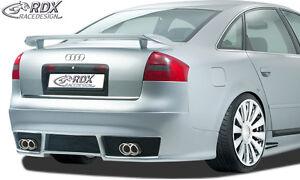 RDX-approccio-posteriore-Audi-a6-4b-c5-Berlina-Posteriore-Grembiule-approccio-diffusore-spoiler