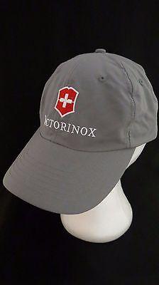 VICTORINOX Swiss Army Cap Hat Adjustable Front Shield Emblem c16a8463ddf