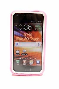 Light-Pink-White-Hard-Cover-Case-for-Samsung-Galaxy-S-II-2-Epic-Touch-4G-D710