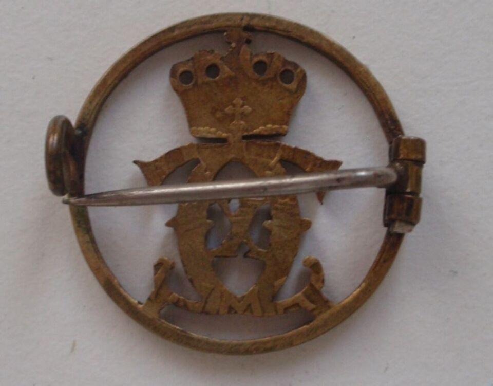Militær, Chrx 1 Kr udsavet til nål