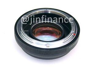 Canon FD-FX reducer speed booster turbo adapter to FUJI FX X100 X100T X-T1 X-E2