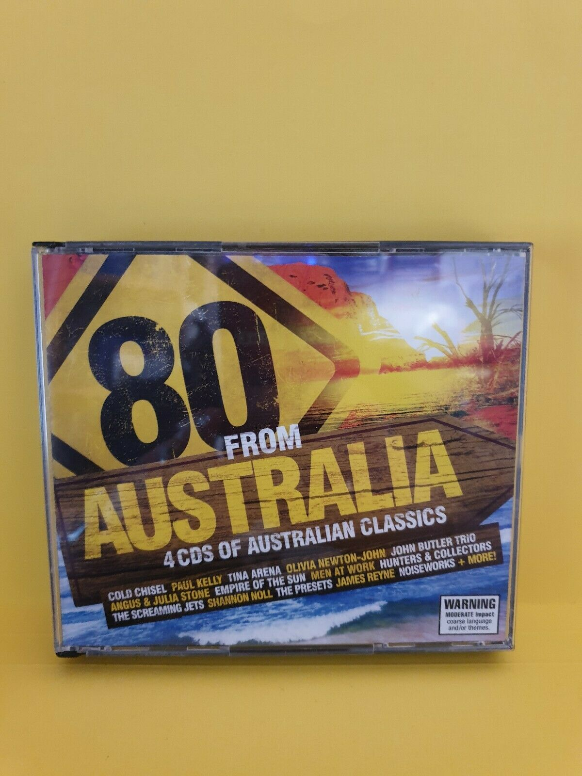 80 From Australia (4 cds) Various Artists 🎵 MUSIC CD