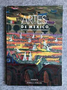 Artes de Mexico : Number 21 : Oaxaca : English / Spanish