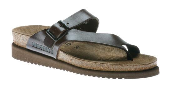 Mephisto Helen Chestnut (Dark Brown) Waxy Comfort Sandal Womens Womens Womens Sizes 35-42 NEW 8e19b3