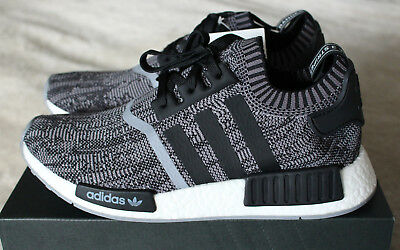 4b93673b908c3 New Adidas NMD PK Primeknit EU Exclusive 1 of 900 AI Camo Grey Black UK 9.5