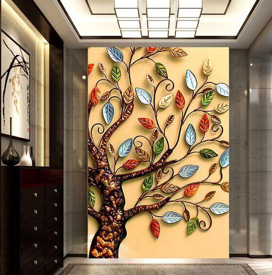 3D Farbe Baum  84  Tapete Wandgemälde Tapete Tapeten Tapeten Tapeten Bild Familie DE Summer | Vogue  | Attraktives Aussehen  | Up-to-date Styling  cc3b64
