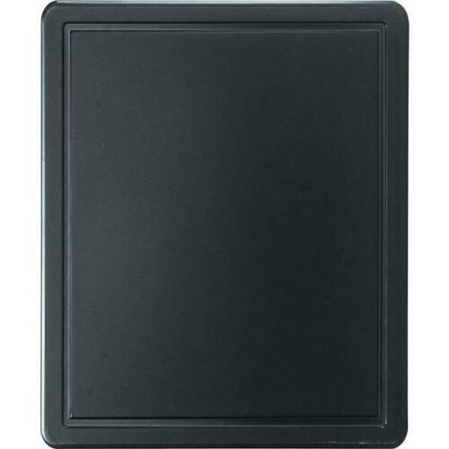 m Schneidbrett Schneidebrett HACCP Farbe schwarz GN1//2 325 x 265 x 12 mm glatt