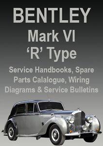 BENTLEY MARK VI R Type WORKSHOP MANUAL 19461955 EBay - Bentley Mk Vi Wiring Diagram