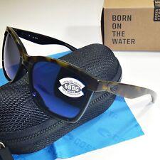 a02fb29a26835 Costa Del Mar Anaa Sunglasses-Shiny Olive Tortoise   Black Blue Mirror 580G  Lens