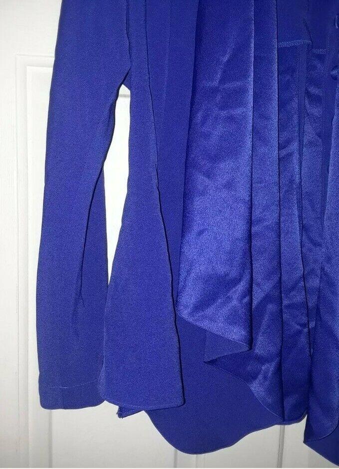 DAYMOR COUTURE BLUE JACKET SZ 10 WEDDING++ - image 3