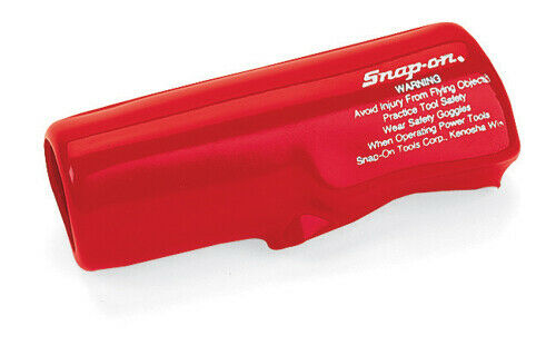 SNAP ON PDR5A AIR DRILL RED PROTECTIVE BOOT