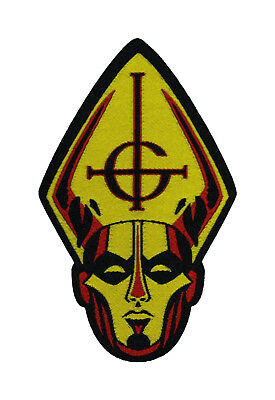 Ghost BC Papa Head Patch Battle Jacket Patch Metal Music Band 101