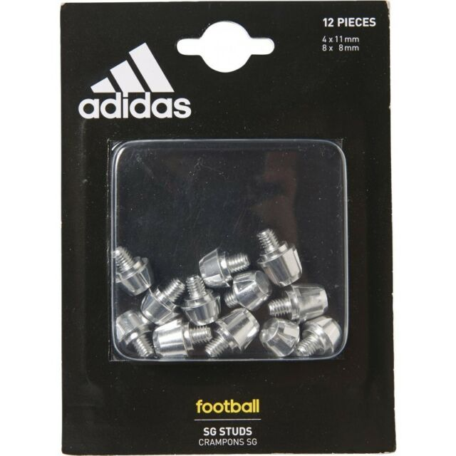 online store 02c73 585ed adidas METAL STUDS - ALUMINIUM 4 x 11 mm 8 x 8 mm - REPLACEMENT BOOTS