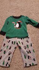 ff29e8ed1 Carter s Baby Girls  2-piece Penguin Fleece PJs 24 Months