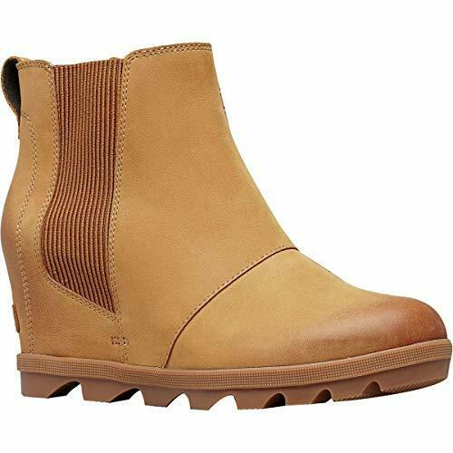 fb3b6fb1c2f0 Sorel Women s Joan of Arctic Wedge II Chelsea Boot 1808551 Camel Brown Size  6.5 for sale online