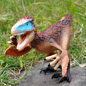 8'' Utahraptor Dinosaur Figure Educational Toy Collectible Birthday Gift to Kids