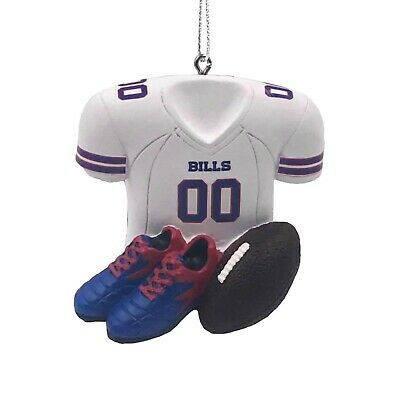 Team Color One Size FOCO NFL Buffalo Bills Resin Logo Ornamentresin Logo Ornament