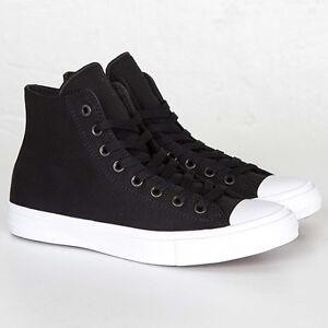 b7035522553 Converse All Star Chuck Taylor II 2 Canvas Unisex Shoes Hi Top Black ...
