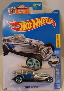 Hot-Wheels-2016-HW-Showroom-Great-Gatspeed-Walmart-ZAMAC-Quantity-Listing