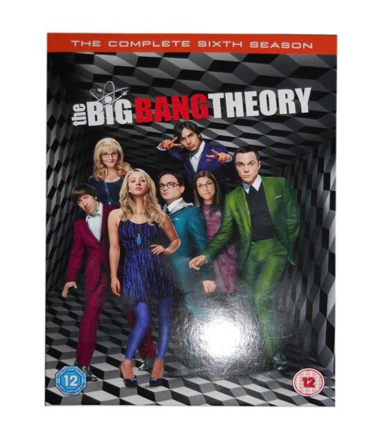 The Big Bang Theory - Series 6 - Complete (DVD, 2013, 3-Disc Set, Box Set)