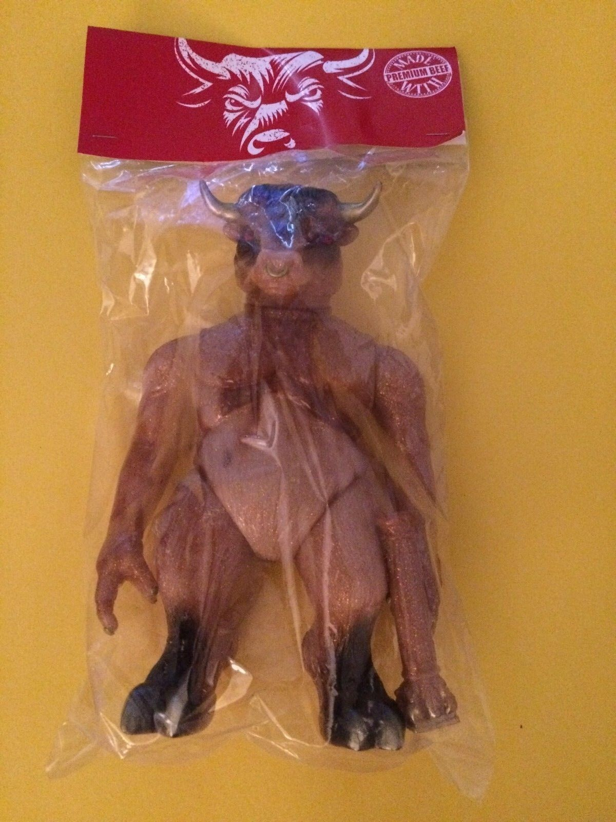 Splurrt Tauro DCON Painted Edition Sealed In Bag With Header Bemon Kaiju MVH