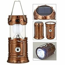 GAXmi Solar Camping Lantern Rechargeable Emergency Light Portable Collapsible