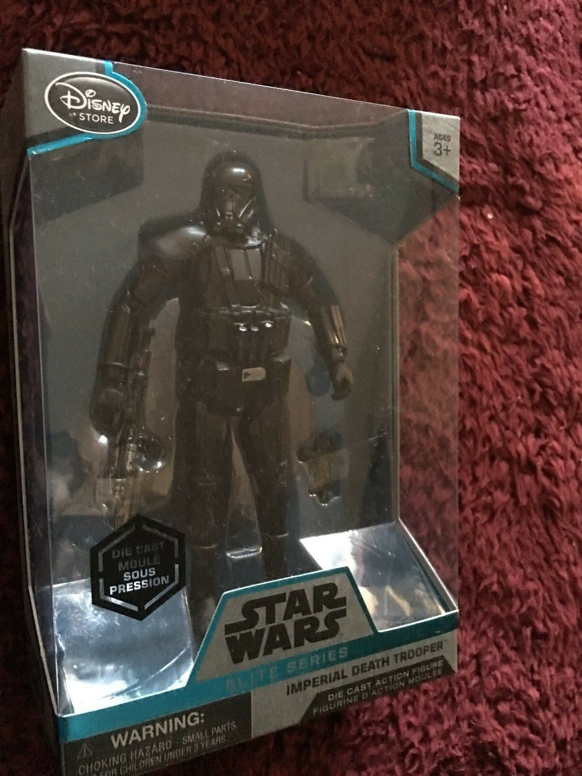 Star Wars   rogue one elite series  imperial death trooper  die-cast  figure