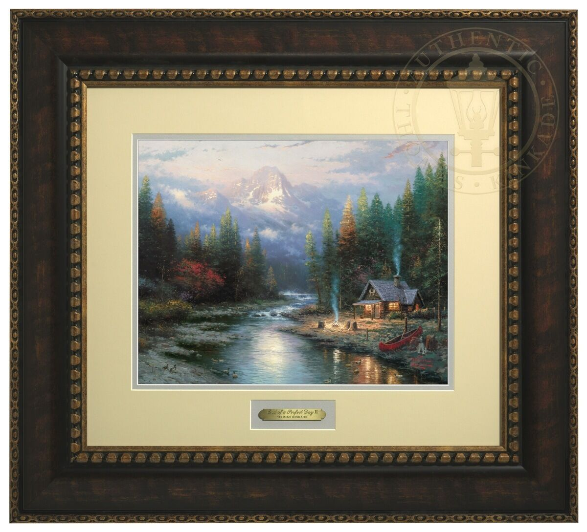 Thomas Kinkade End of a Perfect Day II Prestige Home Collection