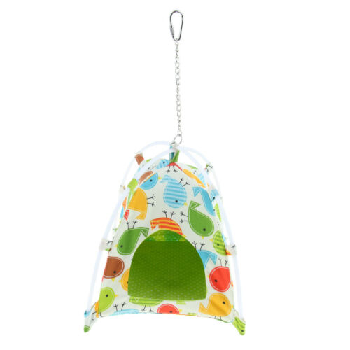 Warm Canvas Hammock Parrot Nest Sleeping Bird Tent House Pet Bird Cage for Birds