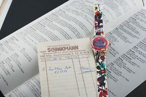 Swatch Sam Francis, GZ123 - Original Art(S)watch aus 1992