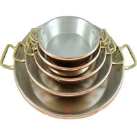 Traditional Copper Paella Pan Paellera Paella Dish Made In Portugal