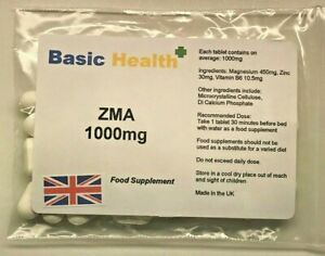 ZMA-90-x-1000mg-Vegetarian-Growth-Testosterone-Booster-Rugby-Muscle-Hench-Gear